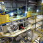 Interior of Frac Sand Facility