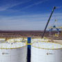 Construction of Permian Frac Sand Transload Plant